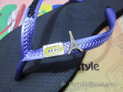 MYOH 2011 - Havaianas Slim Rubber Logo - Purple Straps