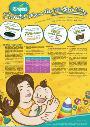 Pampers Salutes Moms Poster