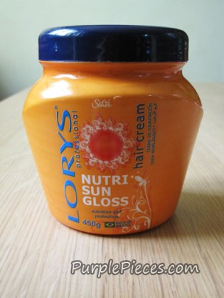 Lorys Hair Cream - Nutri Sun Gloss