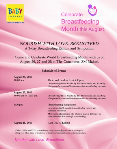 Baby Company Breastfeeding Event