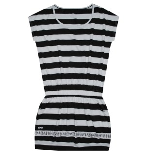 Solo Kenkoy Collection - ladies striped gartered dress P1495