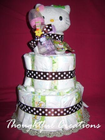 Thoughtful Creations - Diaper Cakes