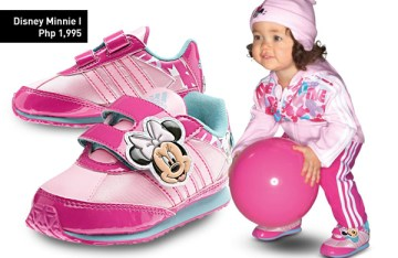 adidas kids minnie mouse pink