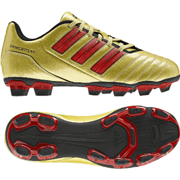 adidas football shoes gold