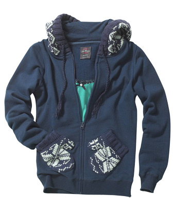 Mitten Hoody - Joe Browns