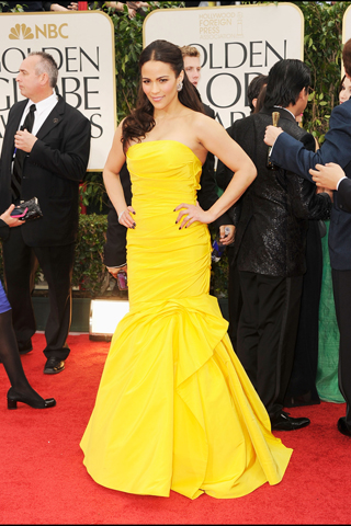 Paula Patton - 69th Golden Globe Awards