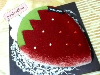Tous Les Jours - Strawberry Cake