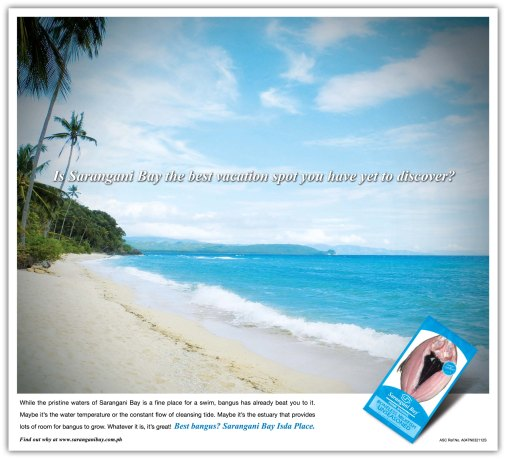 Sarangani Bay Bangus - Beach