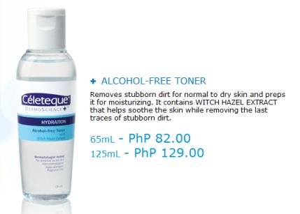 Celeteque DermoScience - Hydration Alcohol Free Toner