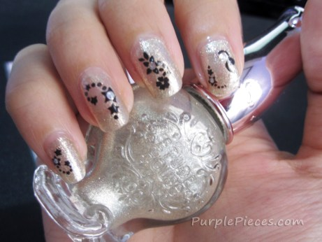 Etude House BR003 Nail Polish _ Nail Art