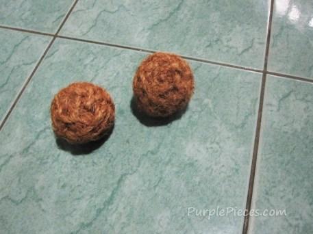 Pet Toys - Fiber Balls