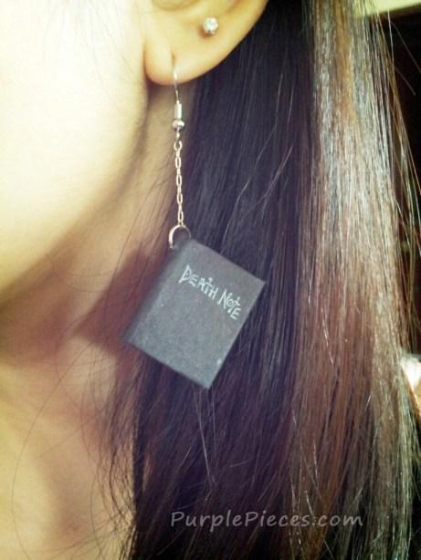 Death Note Earrings
