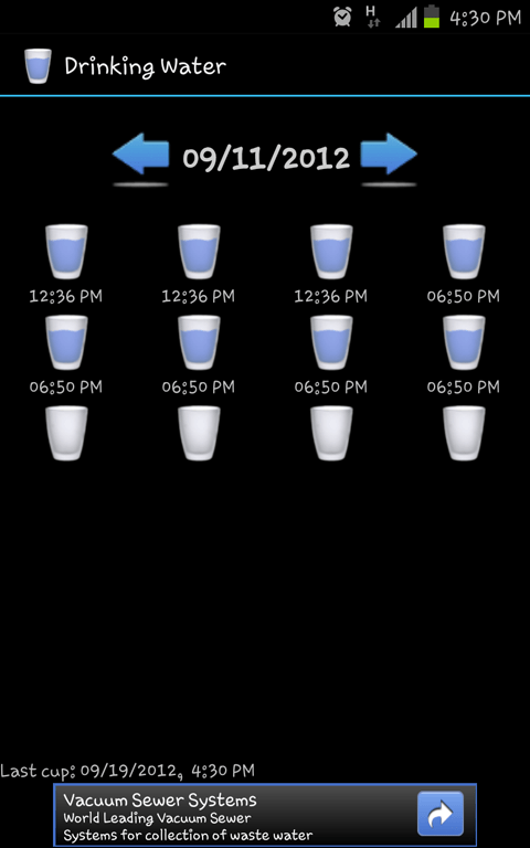 Drinking Water - Android App