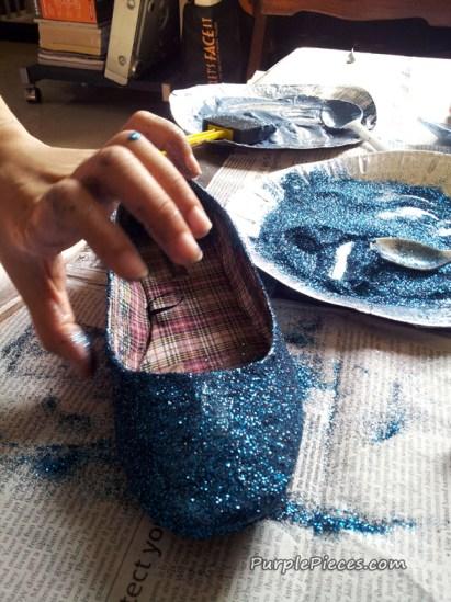 Glitter Shoes - Ballet Flats