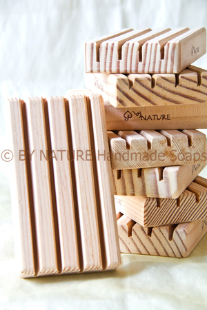Wooden Soap Dish - By Nature Handmade Soaps