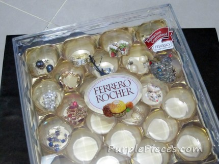 Ferrero Box Jewelry Organizer