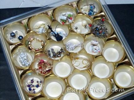 Ferrero Rocher Jewelry Organizer