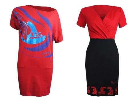 Freeway x Botong Knit Dress - Two Fer Dress