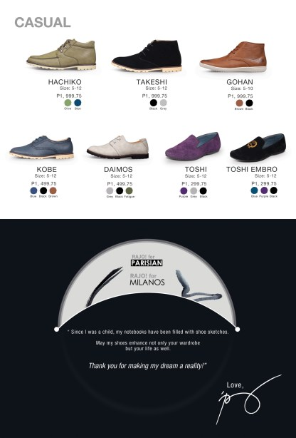 Rajo for Milanos Shoe Collection