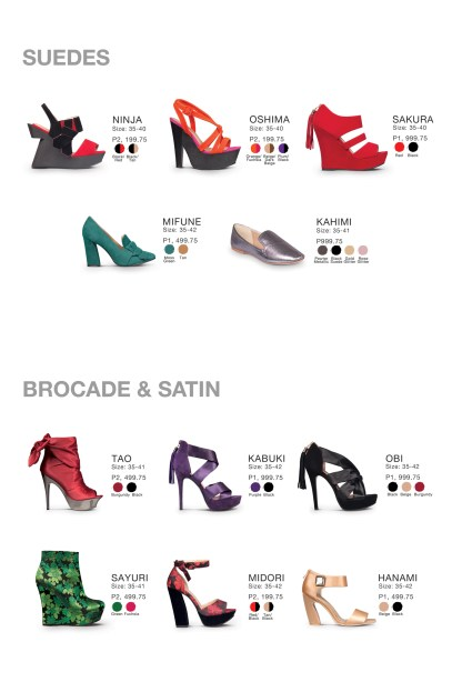 Rajo for Parisian Shoe Collection
