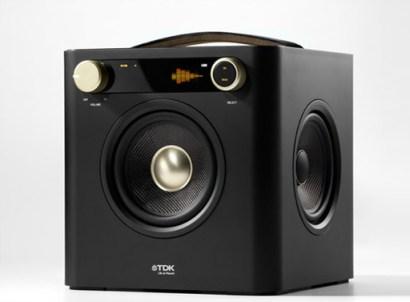 TDK Cube Boombox