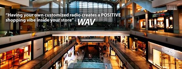 WAV Atmospheric Branding - Instore Radio