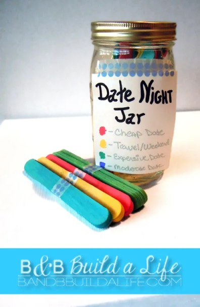 Date Night Jar - B and B Build a Life