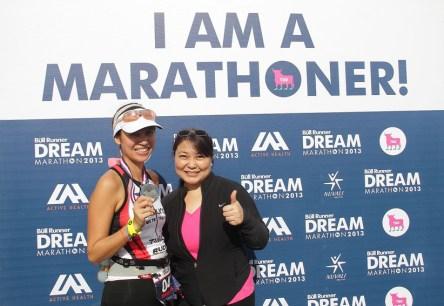 Bull Runner Marathon 2013 - Maricel Laxa Pangilinan