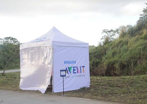 Philips Avent Breastfeeding Booth - Bull Runner Marathon