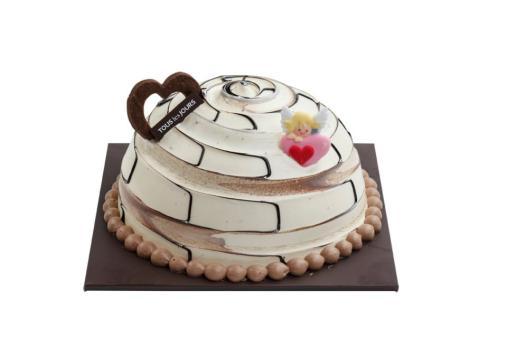 Tous Les Jours - Chocolate Marble Dome