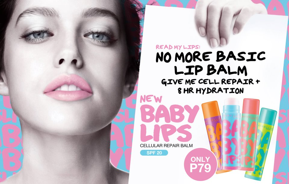 Maybelline Baby Lips: No More Chapped Lips!