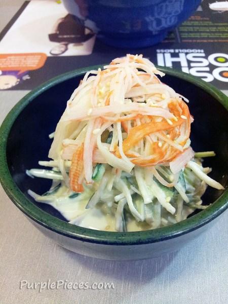 Moshi Koshi Noodle Boss Kani Salad