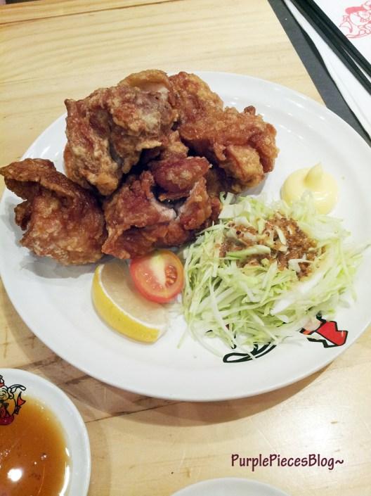 Ikkoryu Ramen Menu - Karaage Fried Chicken