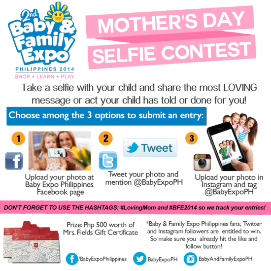 Mothers Day Selfie Contest