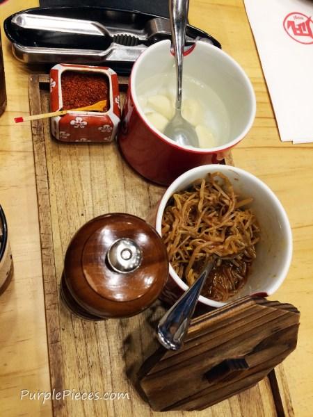 Ramen Nagi Menu - Spices