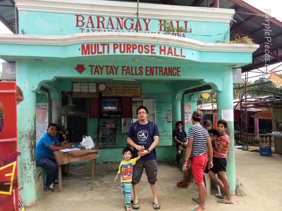Taytay Falls Entrance Fee