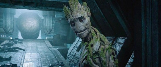 I Am Groot Smiling