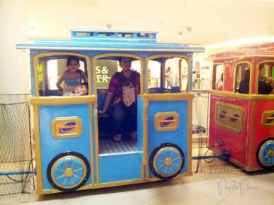 Trinoma Train Ride for Kids