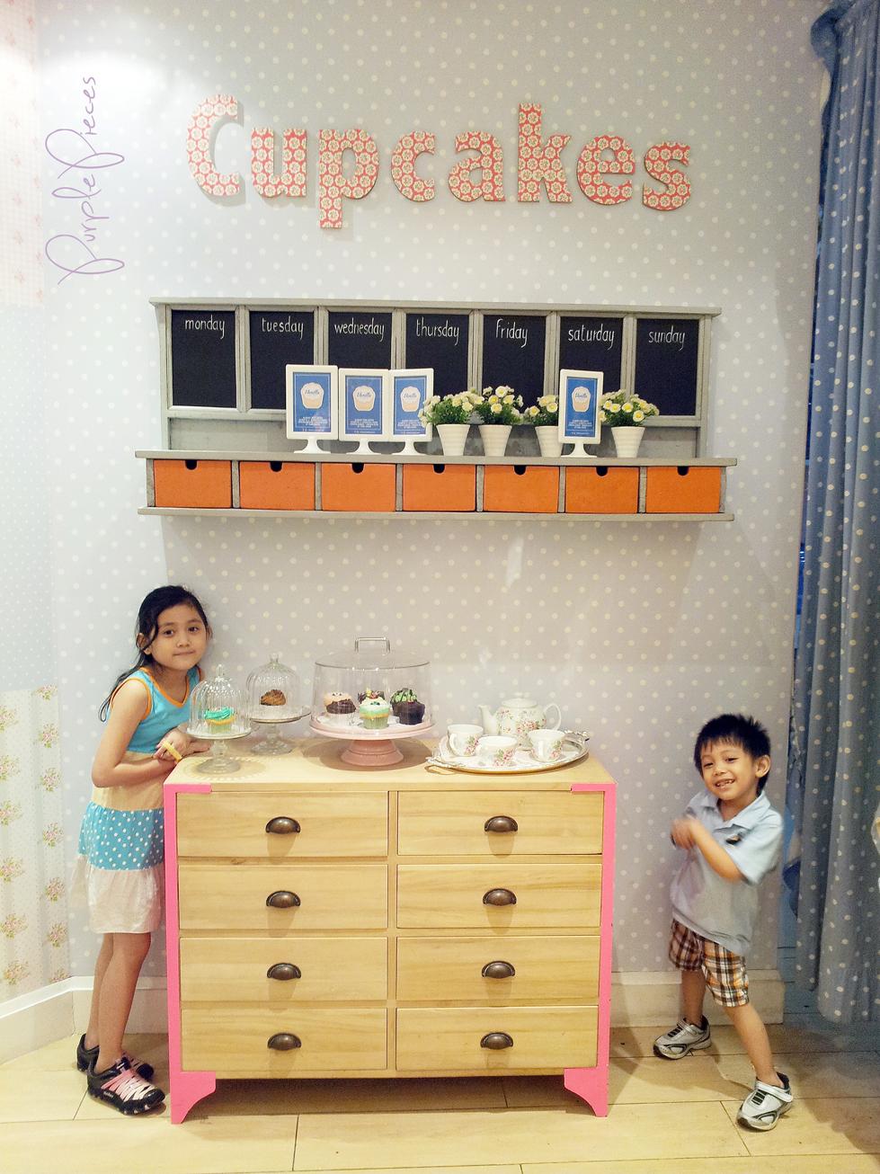 Vanilla Cupcake Bakery Interior Design