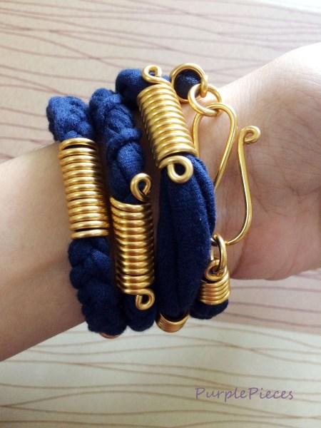 Bend Accessories Blue Bracelet