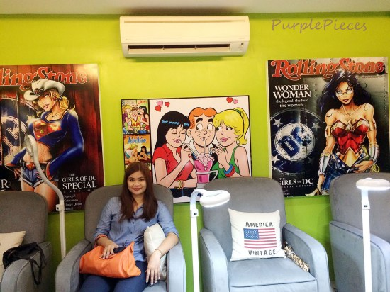 Pamper Couch Nail Spa Cubao
