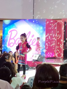 The Princess in Me fashion show