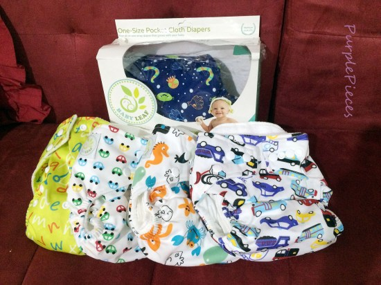 Cloth Diapers Cute Prints - Baby Leaf