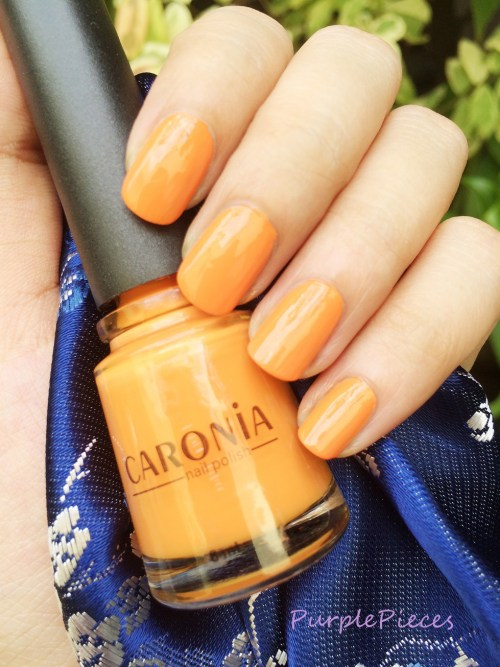 Caronia Sun Kissed - Orange Nail Polish