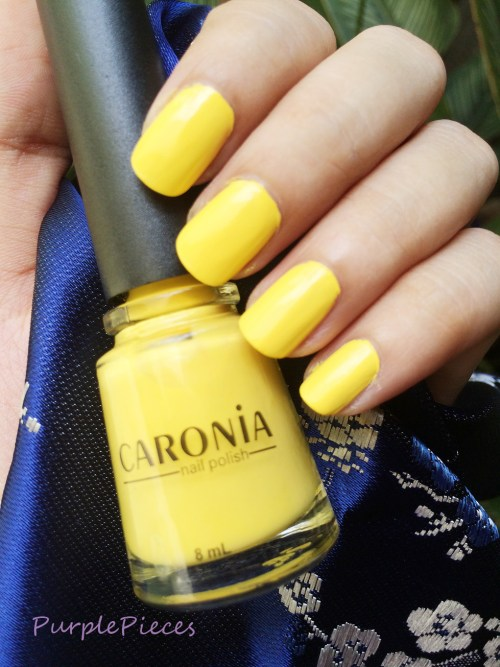 Caronia Sweet Surprise - Yellow Nail Polish