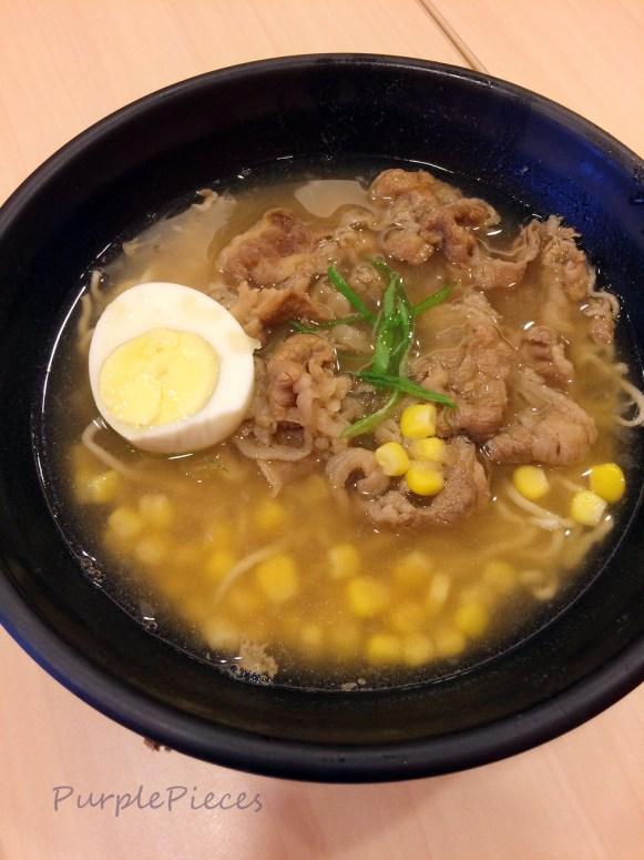 Yoshinoya Beef Ramen