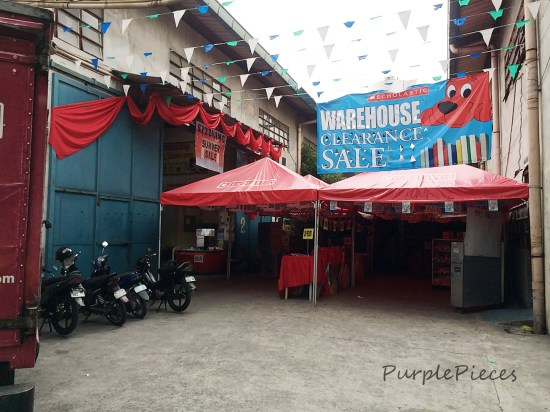 Scholastic Warehouse Sale