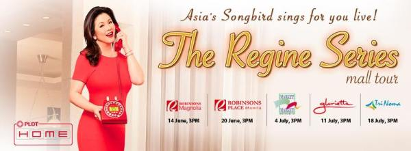 The Regine Series Mall Tour 2015 Schedule