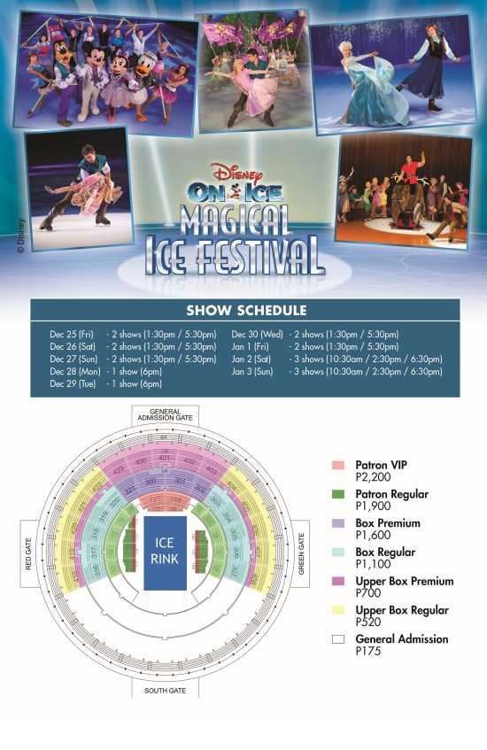 Disney on Ice Magical Ice Festival Schedule and Ticket Prices