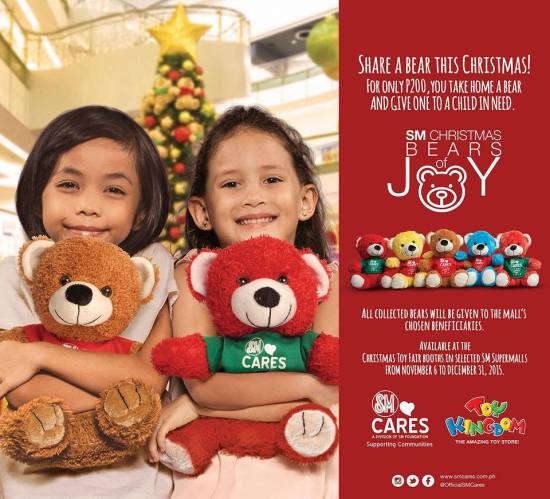 SM Cares Bears of Joy